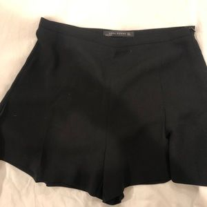 Zara black dressy shorts